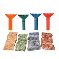 COIN SORTER KIT 4 COLOR 100 ASSORTED COIN WRAPPERS