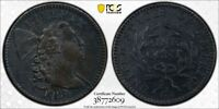 1794 HEAD OF 1794 PCGS XF DETAIL ENVIRONMENTAL DAMAGE LARGE CENT /TRUEVIEW DW753