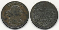 NICE COIN   1800 USA HALF CENT  SOLID FINE  SEE PICTURE >