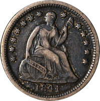 1841-O SEATED LIBERTY HALF DIME GREAT DEALS FROM THE EXECUTIVE COIN COMPANY