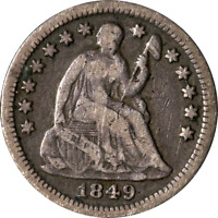 1849-O SEATED LIBERTY HALF DIME GREAT DEALS FROM THE EXECUTIVE COIN COMPANY