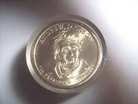 UNCIRCULATED ROLL ANDREW JACKSON DOLLAR SEALED 12 PRESIDENTAL COINS 2008 COIN