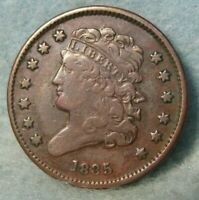 1835 CLASSIC HEAD HALF CENT   ROTATED REVERSE   UNITED STATE