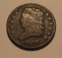 1828 CLASSIC HEAD HALF CENT PENNY   CIRCULATED CONDITION   6