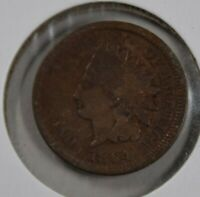 INDIAN HEAD PENNY 1864, VG