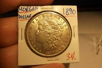 1890 MORGAN DOLLAR  SHIPS FREE