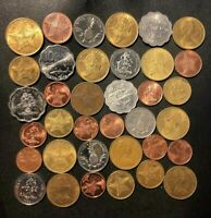 OLD BAHAMAS COIN LOT   36 EXCELLENT LOW MINTAGE COINS   LOT