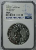 2019 NGC EARLY RELEASE MS 69 QUEENS BEAST YALE OF BEAUFORT 2