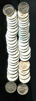 GEM BU MIXED DATE ROLL OF  50  UNITED STATES SILVER ROOSEVEL