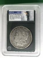 1879 S REV 78 $1 MORGAN SILVER DOLLAR  TOP 100 REVERSE OF 1878 VSS HOLDER VAM 4