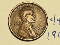 1917-S LINCOLN WHEAT SMALL CENT PENNY 4433K