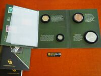 2014 FRANKLIN ROOSEVELT DOLLAR, DIME, SILVER & BRONZE MEDAL COIN CHRONICLES SET
