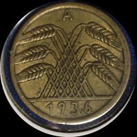 GERMANY 3 OLD COINS 1925D 1926A 1936A
