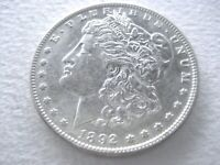 1892-P MORGAN DOLLAR, OFTEN OVERLOOKED DATE SOME LUSTER 6-18