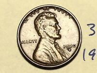 1930-D 1C BN LINCOLN CENT WHEAT CENT 3912K