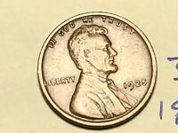 1925 1C BN LINCOLN CENT WHEAT CENT 3835K