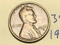 1927 D LINCOLN CENT WHEAT CENT 3889K