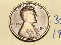 1927 D LINCOLN CENT WHEAT CENT 3884K