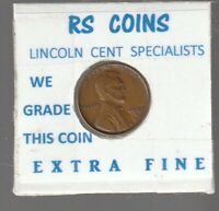 1937D  LINCOLN  CENT   TOUGH TO GET HI GRADE  EXTRA FINE  LOT 52072