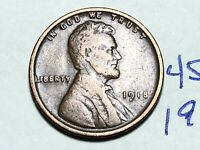 1918 LINCOLN CENT WHEAT CENT 4520K