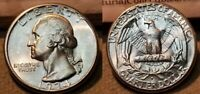 1934 D SILVER WASHINGTON QUARTER 25C BEAUTIFUL WHITE GEM BU