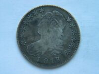 1818/7 SMALL 8 CAPPED BUST HALF DOLLAR BETTER VARIETY   DATE  COIN