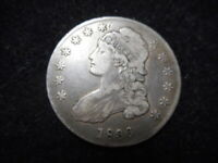 1836 CAPPED BUST HALF DOLLAR -  ORIGINAL COIN - MUST SEE