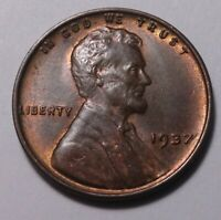 1937 LINCOLN CENT 7442