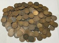 CANADA EDWARDIAN LARGE CENT PENNY LOT COIN COLLECTION  185 P