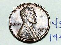1947-D LINCOLN WHEAT CENT PENNY 1C 4553K