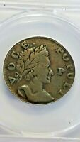 1760 VOCE POPULI NEW YORK U.S. COLONIAL COIN LARGE CENT P IN