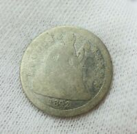 1842-O SEATED LIBERTY DIME CIRC BETTER DATE