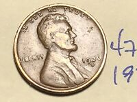 1936-D LINCOLN WHEAT CENT PENNY 4766K