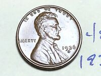 1936 S 1C LINCOLN WHEAT CENT CENT 4849K