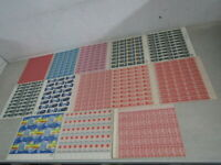NYSTAMPS W MINT NH US BOB AIR MAIL STAMP SHEET COLLECTION