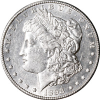 1898-S MORGAN SILVER DOLLAR GREAT DEALS FROM THE EXECUTIVE COIN COMPANY