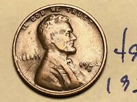 1936-D LINCOLN WHEAT CENT PENNY 4954K