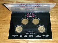 AUSTRALIA 2011 RAMS HEAD DOLLAR MINT/PRIVY MARK $1 COIN SET
