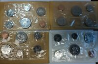 1968   1971 CANADA MINT UNCIRCULATED COIN SET S