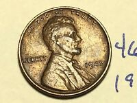 1942 LINCOLN CENT WHEAT CENT 4605K