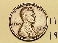 1936 S 1C LINCOLN WHEAT CENT CENT 1120K