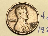 1925-S 1C BN LINCOLN CENT WHEAT CENT 4043K