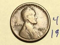 1925-S 1C BN LINCOLN CENT WHEAT CENT 4529K