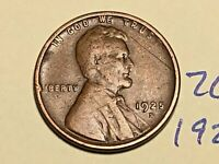 1925-S 1C BN LINCOLN CENT WHEAT CENT 2619K