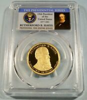 2011-S PCGS PR70DCAM RUTHERFORD B HAYES PRESIDENTIAL DOLLAR PROOF DEEP CAMEO $1