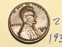 1936-D LINCOLN WHEAT CENT PENNY 2848K