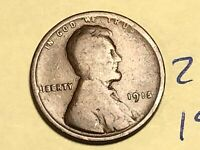 1915 1C BN LINCOLN CENT 2197K WHEAT CENT