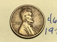 1920-S 1C BN LINCOLN CENT WHEAT CENT 4645K