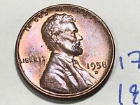 1958-D 1C RD LINCOLN CENT 1766K WHEAT CENT