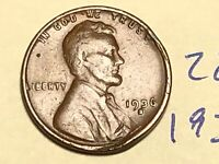 1936 S 1C LINCOLN WHEAT CENT CENT 2840K